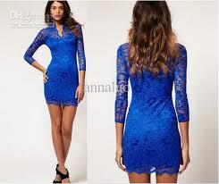 fashion dresses lace sleeve slim s mini dresses
