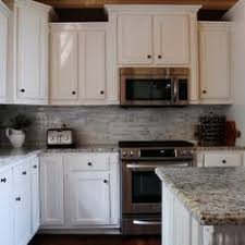 Microwave Kitchen Cabinets Microwave Above Stove With Raised Cabinet Above Kitchens
