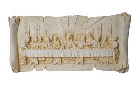 amazon com new best 2 in 1 jesus last supper statue wall hanging