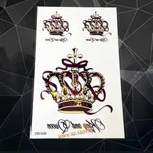 wholesale queen crown tattoos from china queen crown tattoos