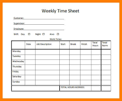 8 time sheet template xavierax