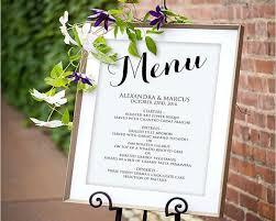 10 best printable wedding menus images on pinterest card wedding