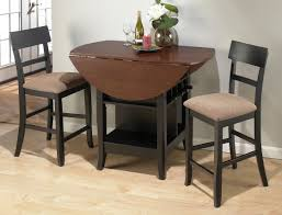 Small Kitchen Table With 2 Chairs by Home Design Saddle Brown Small Kitchen Table And 2 Chairs 3