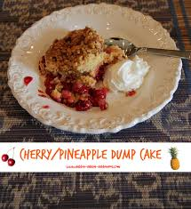 how to make a cherry pineapple dump cake debbiedoos