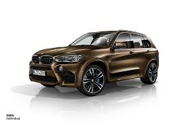 Bmw X5 White 2016 - bmw x5 m and x6 m dress up in pyrite brown and azurite blue