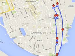 Charleston Sc Map The Best Bike Routes In Charleston