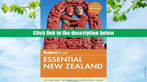 pdf fodor s essential new zealand full color travel guide full
