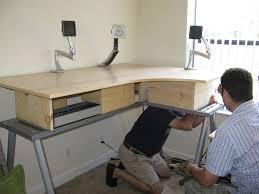 Standing Corner Desk Build Standing Corner Desk Desk Design Standing Corner Desk