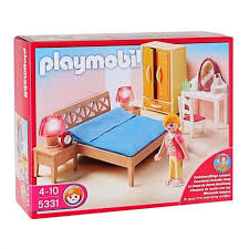 playmobil chambre b playmobil 5331 chambre des parents avec coiffeuse achat vente
