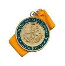 graduation medallion honors medallion ndsu bookstore