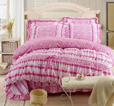 twin girls bedding set pink ruffle twin bedding sets cute twin bedding