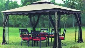 12x12 Patio Gazebo State Regency Gazebo Canopy