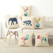 cushion covers for sofa pillows animal geometric nordic cushion pillow case cover decorative