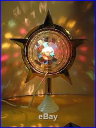 Retro Christmas Tree Toppers - vintage rare bradford celestial star retro motion lamp christmas