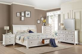 homelegance laurelin sleigh platform storage bedroom set white homelegance laurelin sleigh platform storage bedroom set white sand thru