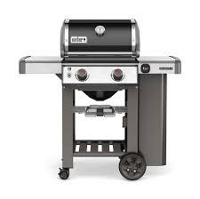 cuisiner avec barbecue a gaz barbecue weber genesis ii e 210 gbs noir