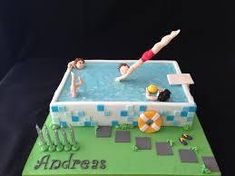 pool party cake cake by galatia cakesdecor