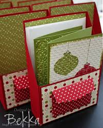 lovely box of contempo christmas cards by bekka www feeling crafty
