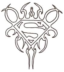 superman tribal by jscimmortal on deviantart