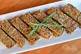 vegan lentil farro loaf recipe great for thanksgiving