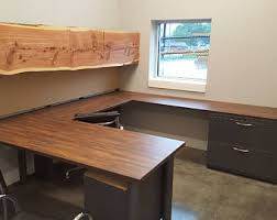 U Shaped Desk Custom U Shaped Office Desk Industrial Office Furniture