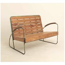design benches concrete steel wood mathi design