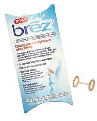 3 Free Samples of Brez Nasal Breathing Aid