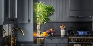 what color are modern kitchen cabinets how black became the kitchen s it color architectural digest