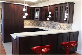 Kitchen Backsplash White Cabinets Espresso Cabinet Delicatus White Countertop Marble Backsplash