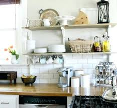 shelving ideas for kitchen open kitchen cabinet ideas traciandpaul com