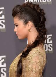 braided pompadour hairstyle pictures selena gomez hairstyles braided pompadour popular haircuts