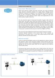 power factor for lighting load power factor energecapacitor