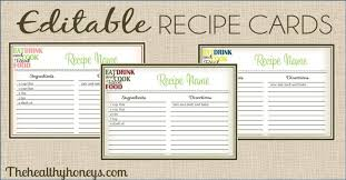 printable recipe cards template free typable recipe cards roberto mattni co
