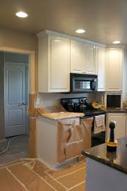 Before And After Pictures Of Painted Kitchen Cabinets White Painted Kitchen Cabinet Reveal With Before And After Photos