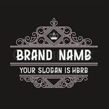 design a vintage logo free simple and elegant vintage frame design template vector vintage