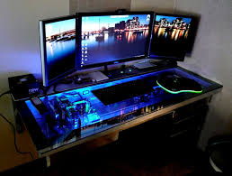 Ultimate Gaming Desk Image Office Workspace Cool Computer Gaming Desk Ideas Ultimate