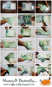 cara membuat origami bunga dari uang kertas crafty patty money butterfly