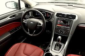 ford fusion titanium interior 2015 ford fusion titanium awd review yet another ford driver s car