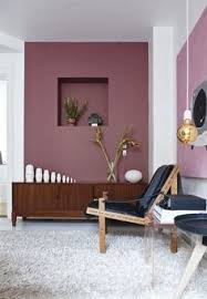 Interior Wall Colours Dusty Purple Wall Color The New Neutral Interiors Dark