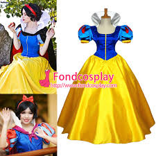 anime snow white princess dress movie cosplay costume custom made