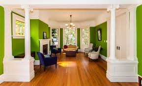 brilliant shades of green for your living room
