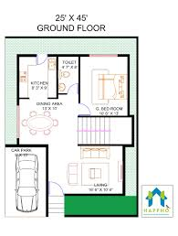 1bhk floor plan 1 bhk floor plan for 45 x 25 plot 1125 square feet 125 squareyards