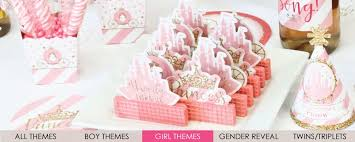 baby girl shower themes baby shower supplies decorations themes bigdotofhappiness