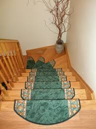 Wood Home Interiors Decorating Simple Wood Stair Treads With Cool Handrail For Home