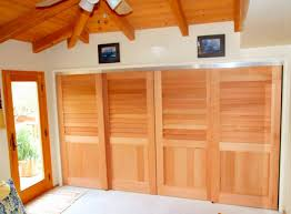Closet Doors Louvered Cedar Sliding Closet Doors By Kestrel Shutters Doors Archello