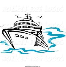 ship on sea clipart