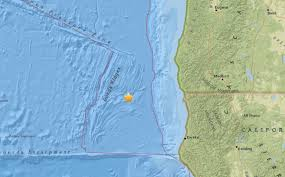 Oregon Tsunami Map by 5 0 Earthquake Rumbles Southern Oregon Coast Late Saturday