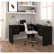 glass black l shaped desk u2014 l shaped and ceiling finding a cheap