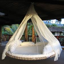 circular ceiling beds floating bed