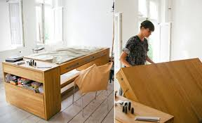 Office Desk Bed Clever Workbed Desk Combines Office Desk And Bed Into One Flip To